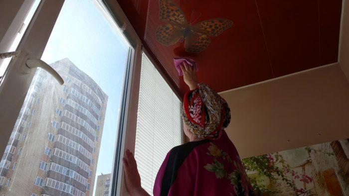 натяжные потолки из полиэфирной ткани