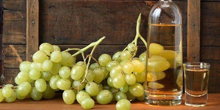 Рецепт виноградной чачи