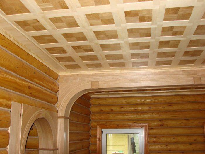 обшивка потолочной поверхности