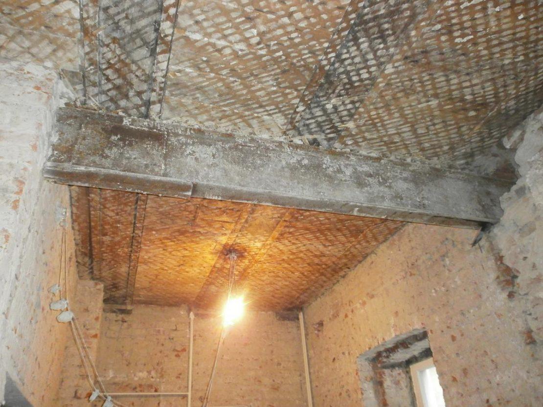 виды ремонта деревянного потолка