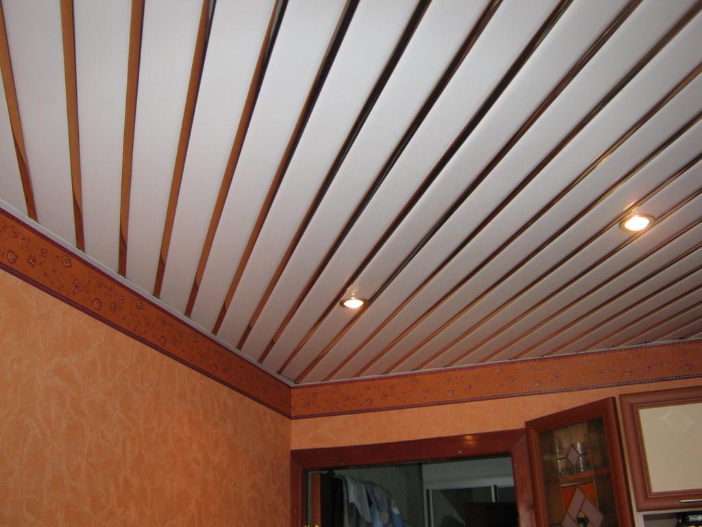 пластиковый сайдинг на потолок
