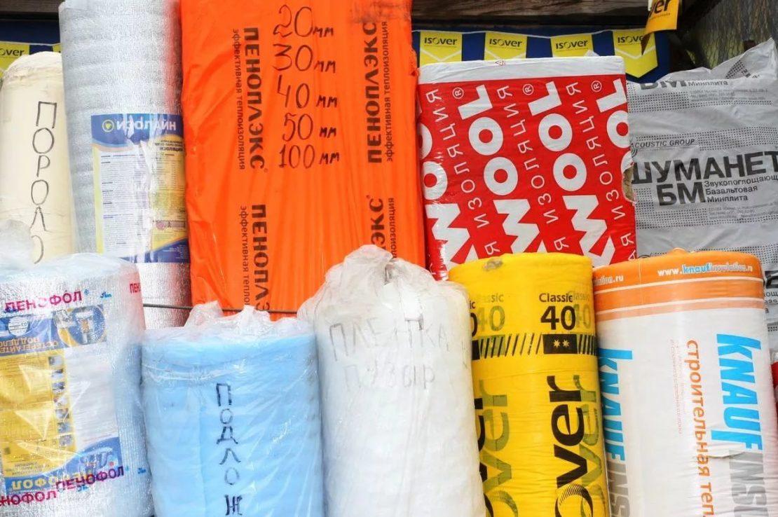 разновидности теплоизоляции для потолка