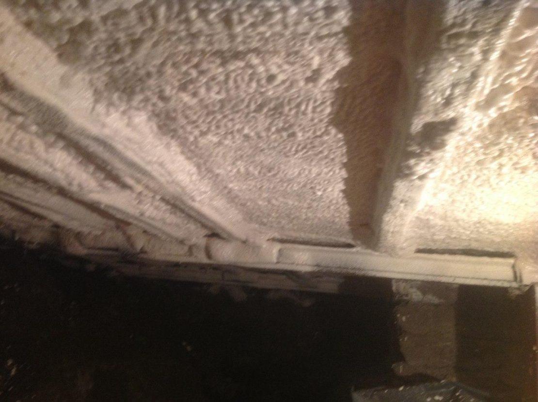 утепление потолка в подвале дома