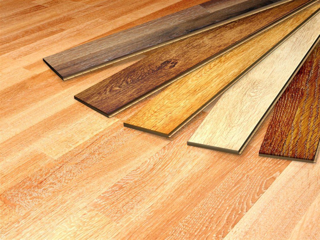 выбор ламината для монтажа на потолок