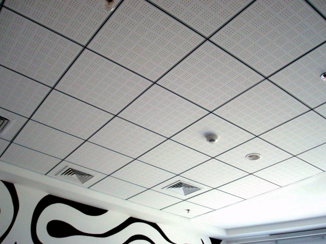 подвесные акустические потолки