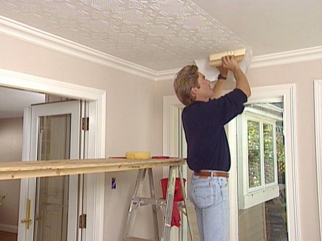 ремонт потолка плановый