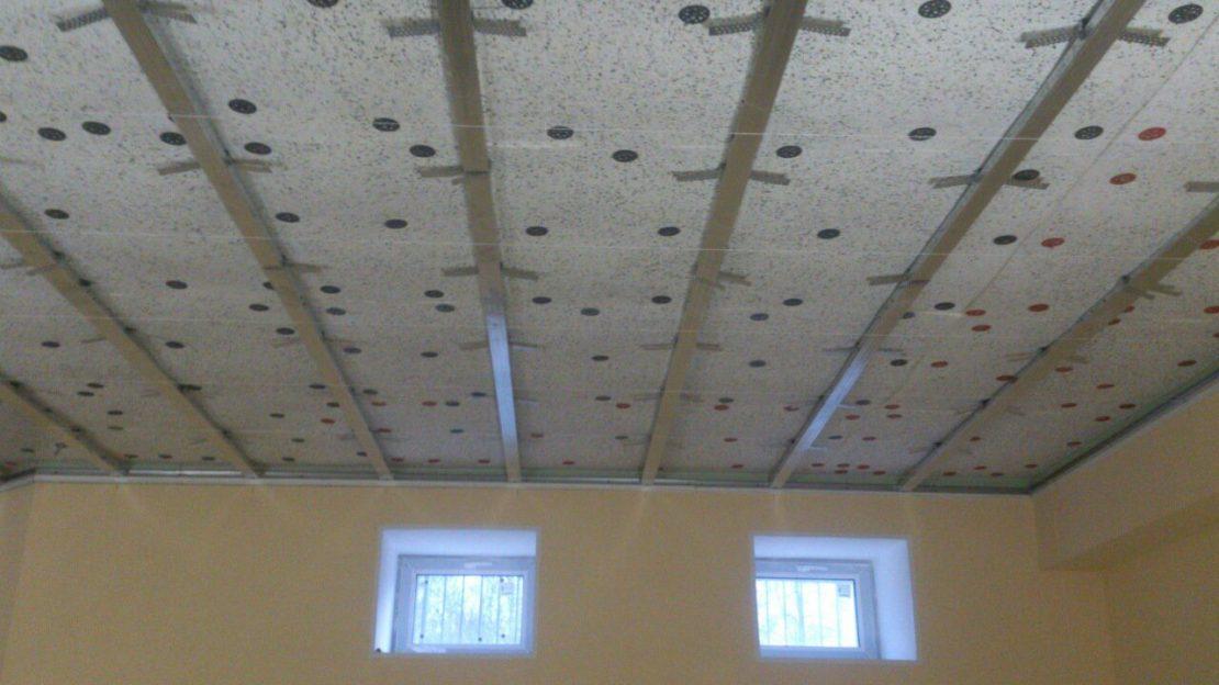 пенопласт для шумоизоляции потолка