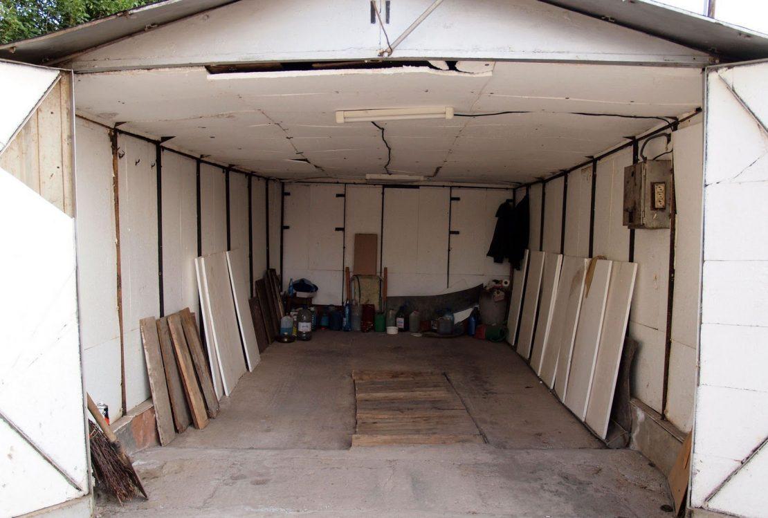 теплоизоляция крыши гаража