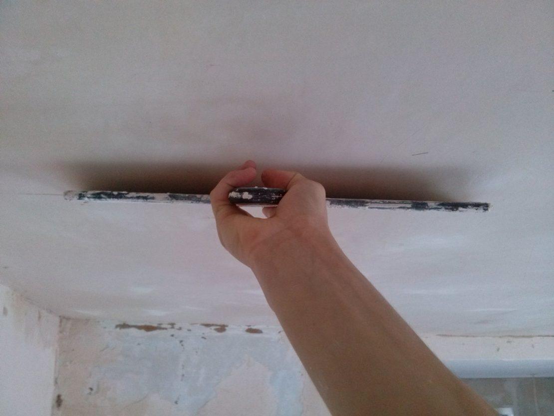 потолочная шпаклевка