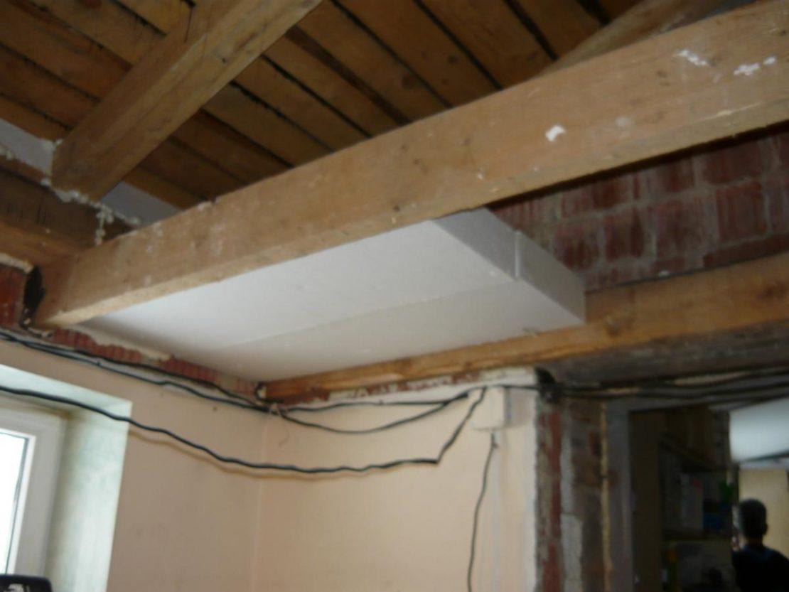 утепление потолка изнутри