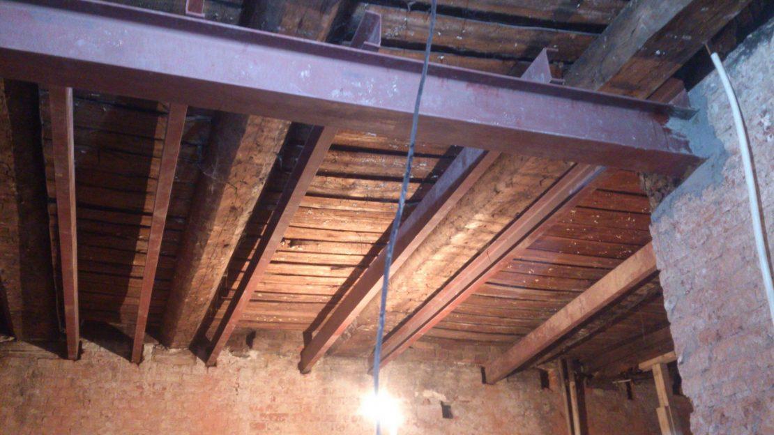 варианты усиления потолка