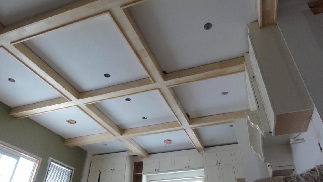 изготовление каркаса потолка