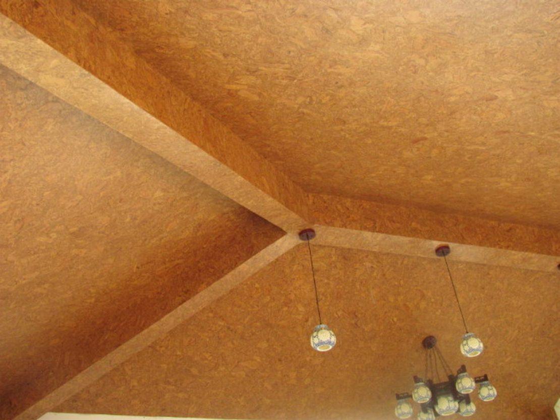 звукоизоляция потолка пробкой
