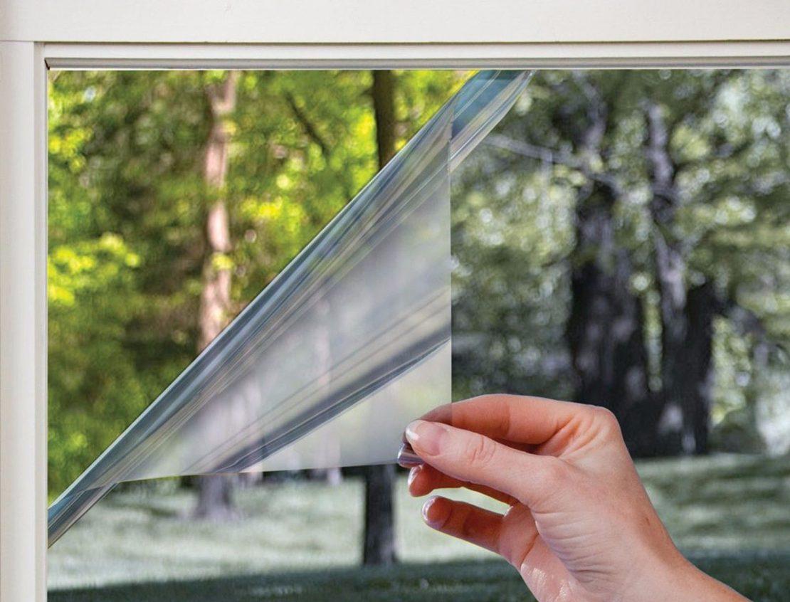Энергосберегающая пленка на окнах