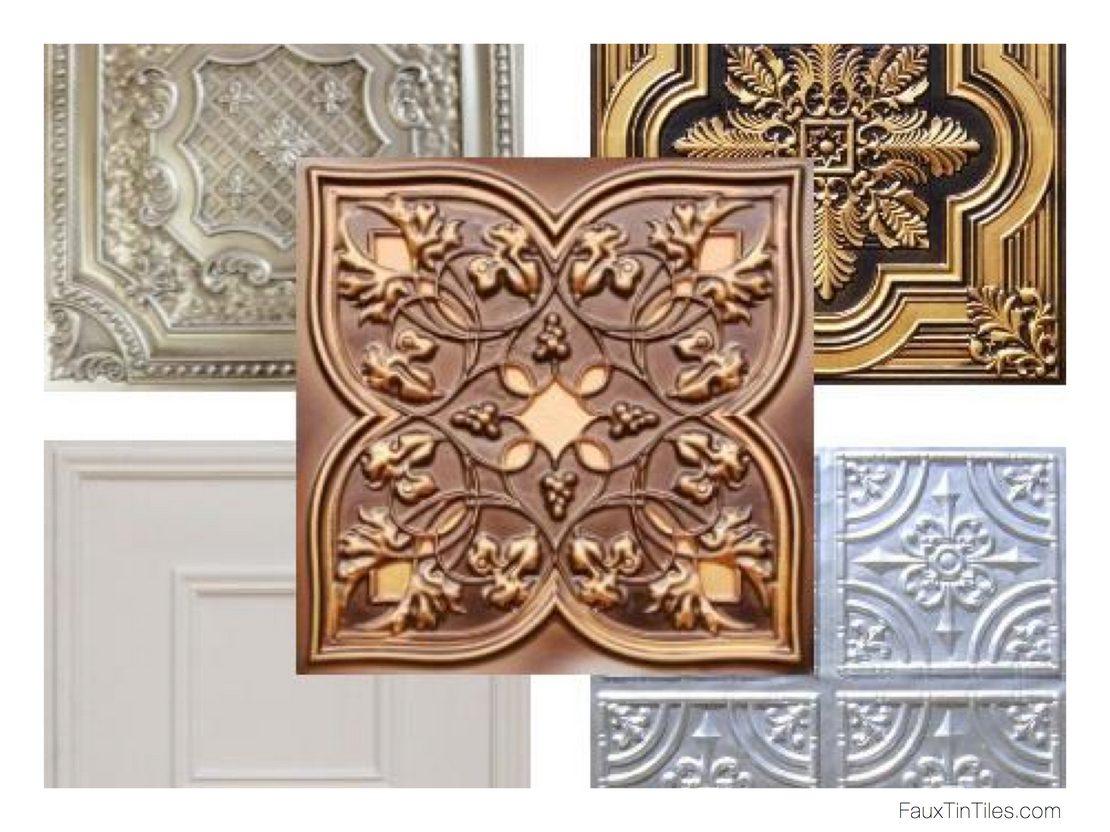 разновидности потолочных плиток