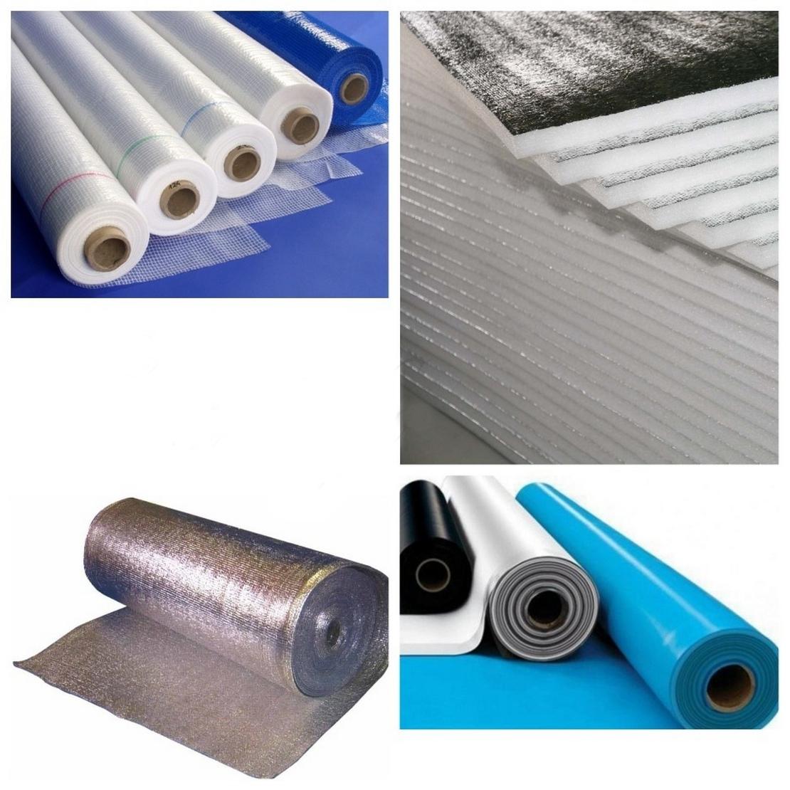 разновидности пароизоляционных материалов