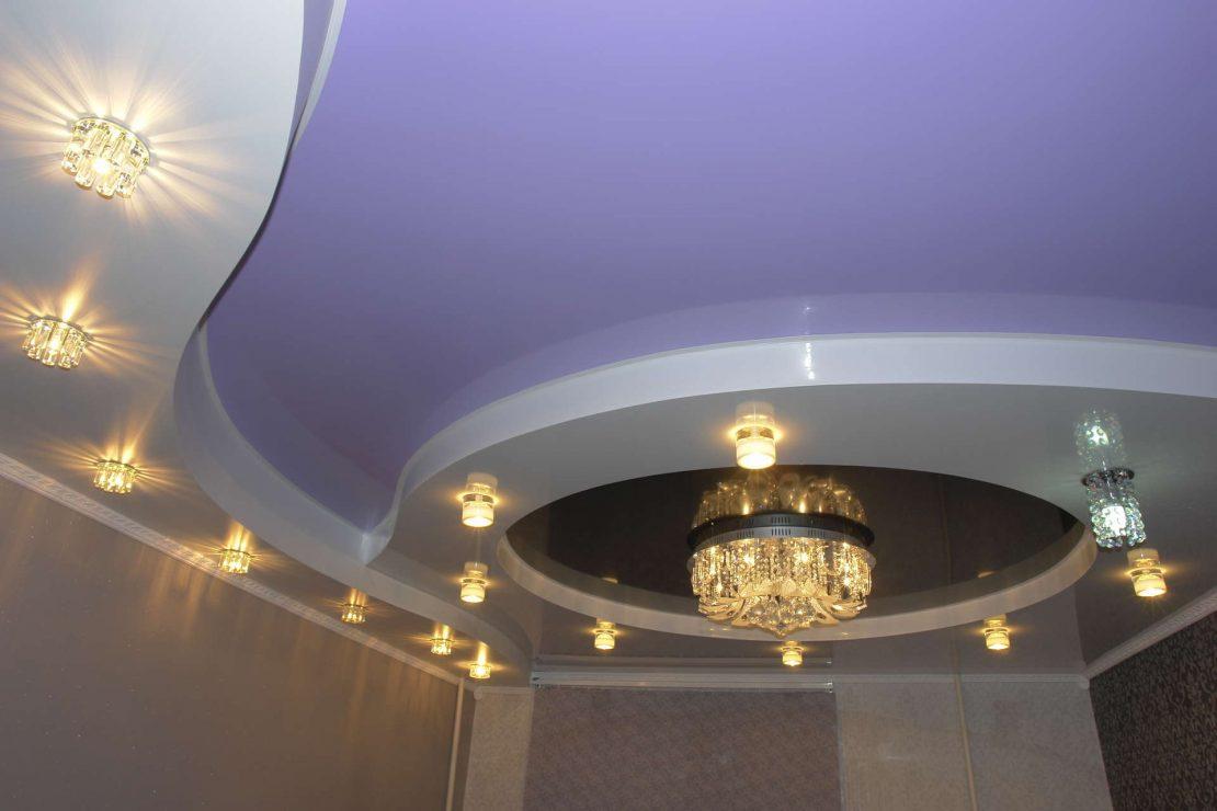 формы комбинированных потолков