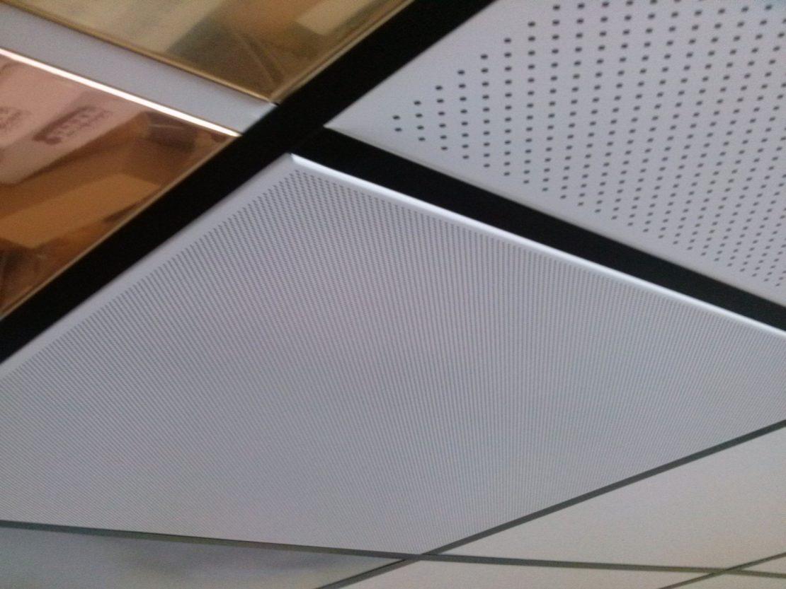 плиты для каркасных потолков