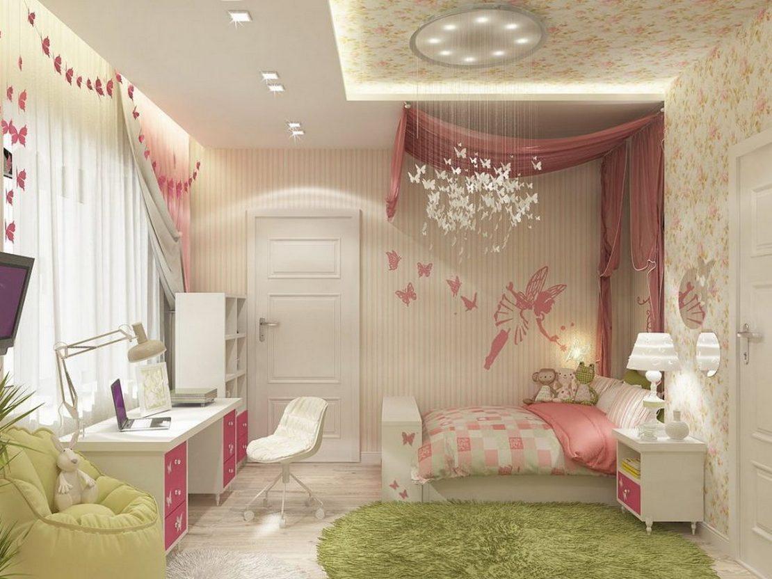 гипсокартонные потолки в детскую комнату