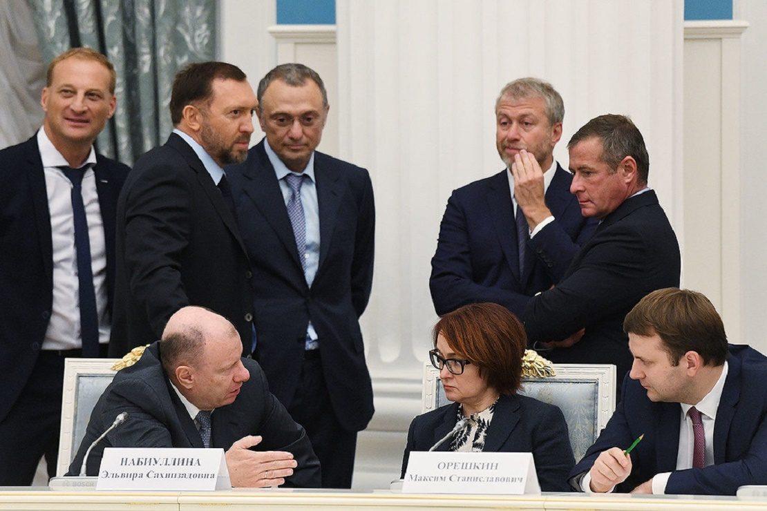 Представители крупного российского бизнеса