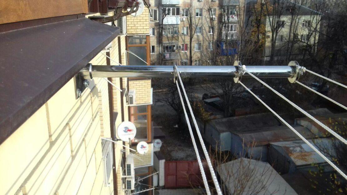 бельевые веревки на балкон