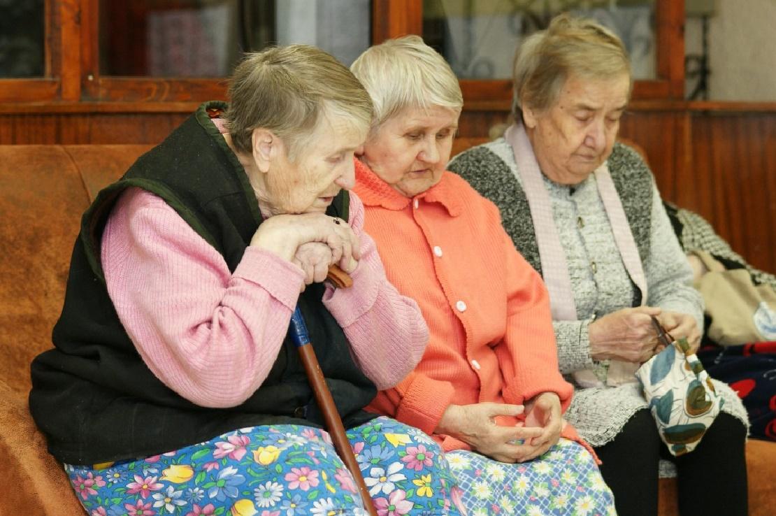 Инвалиды пенсионеры картинки