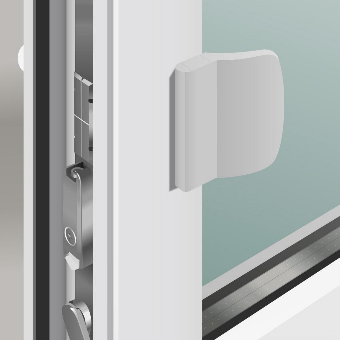 защелка для балконной двери