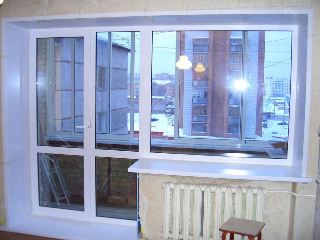 балконные двери стеклянные
