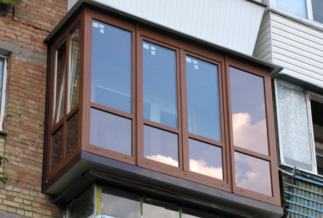 разновидности балконов
