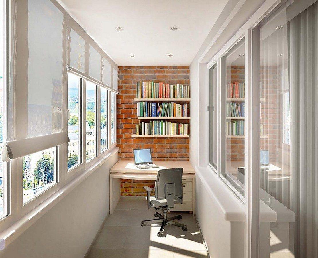 примеры функционального использования балкона