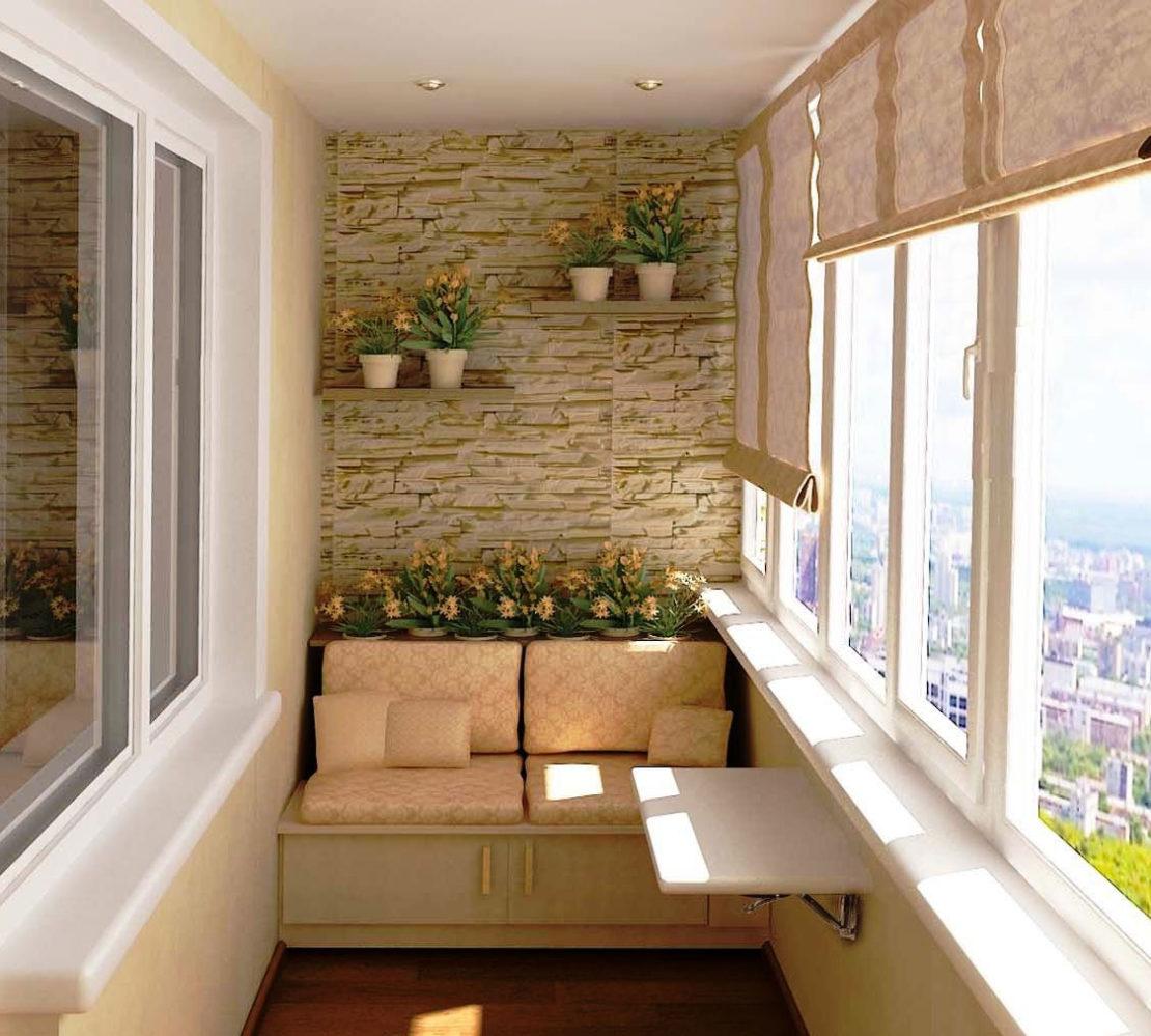 диван на балкон