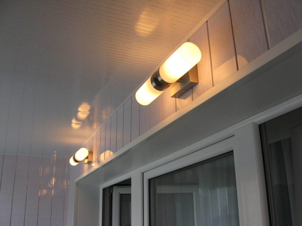 виды светильников для балкона