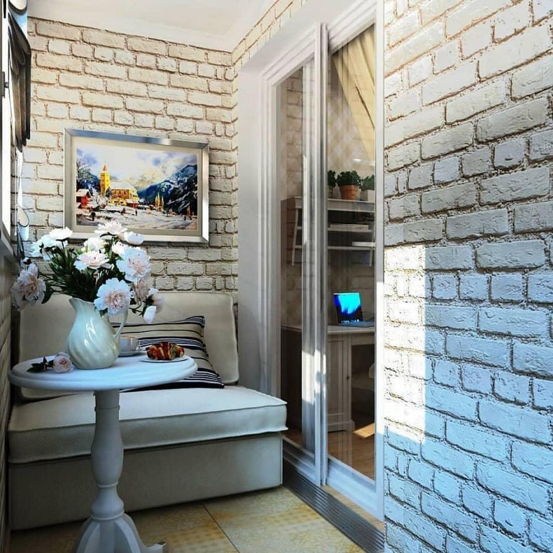 декорация стен искусственным кирпичом