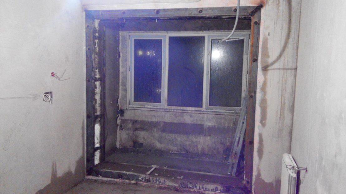 демонтаж дверного проема