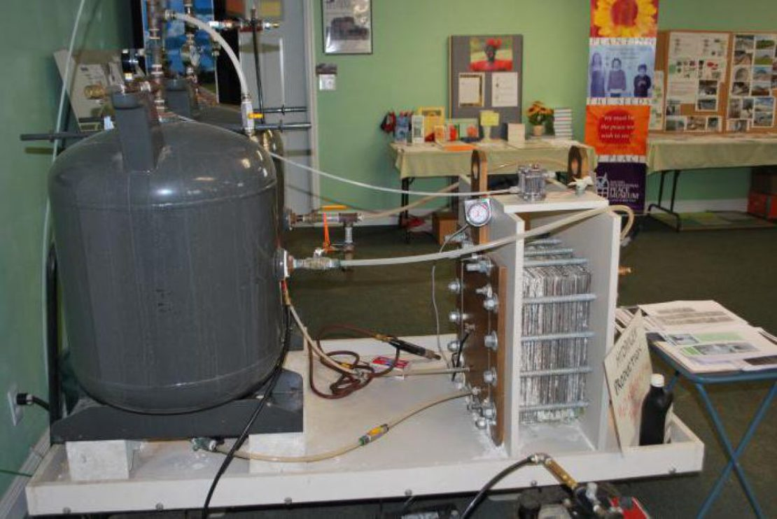 конструкция водородного генератора