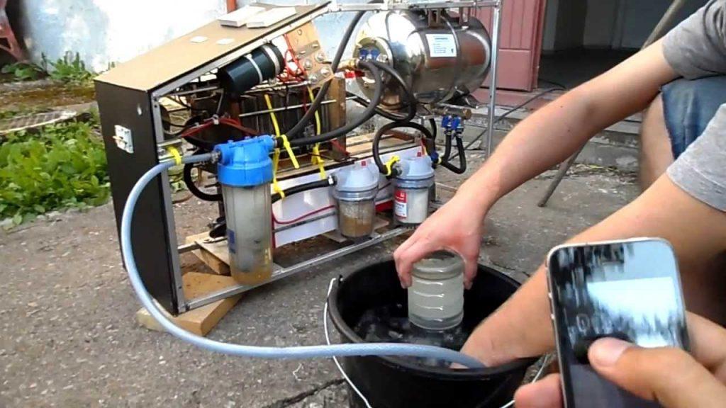 водородное отопление собственными силами