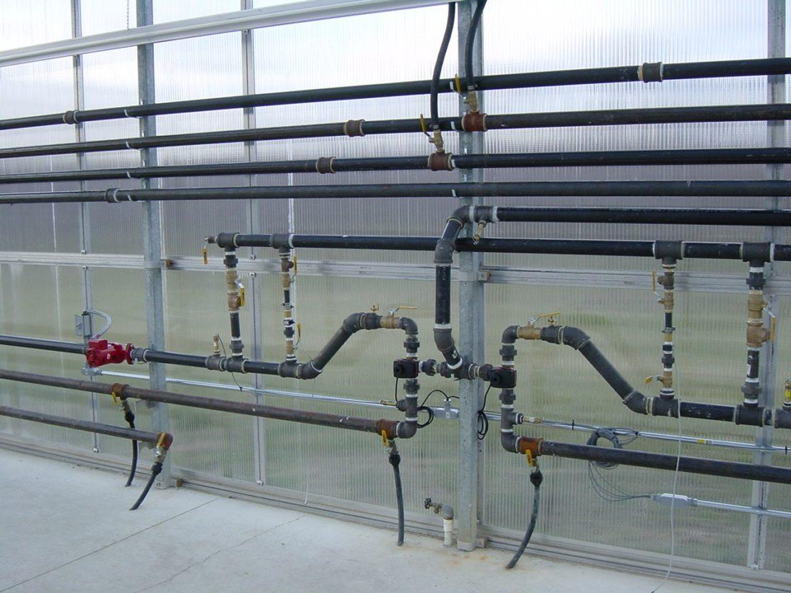 монтаж водяного контура отопления