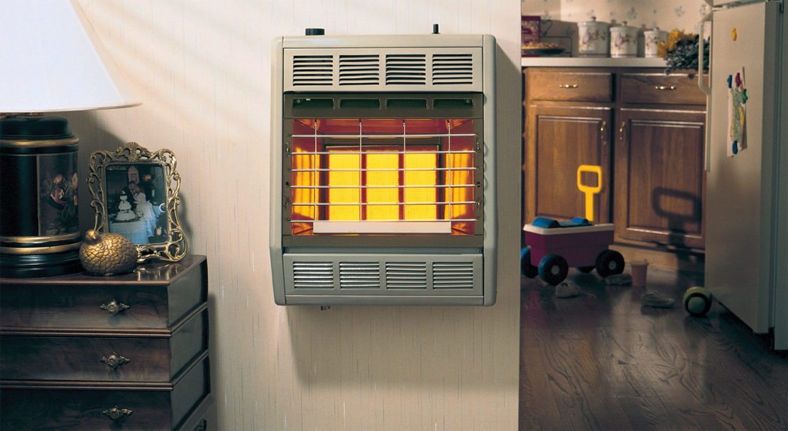 выбор газового теплового генератора