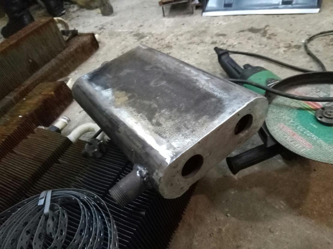 сооружение электрического котла