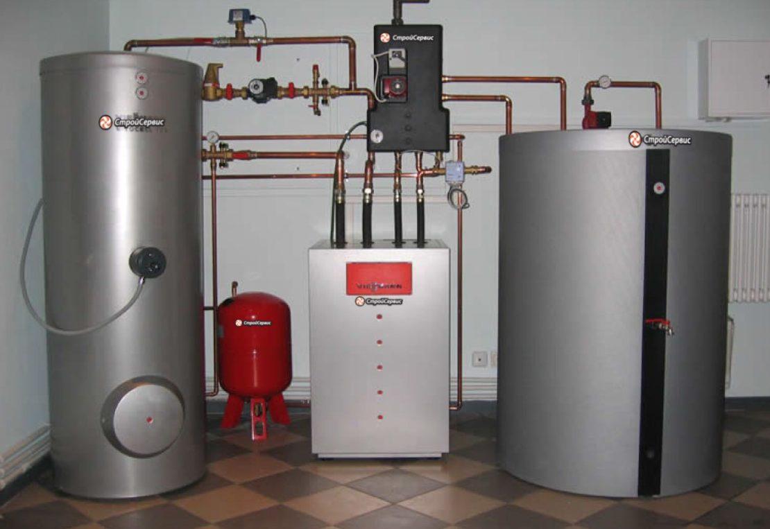 система газового отопления в частном доме