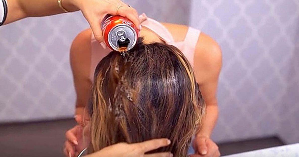 Кола для мытья волос
