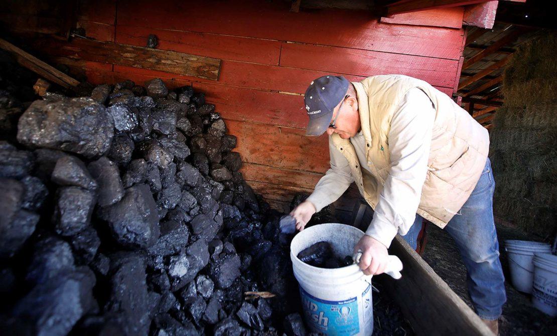 особенности хранения угля