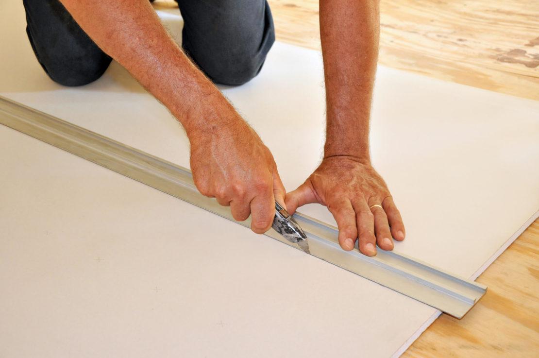 Как разрезать листы гипсокартона