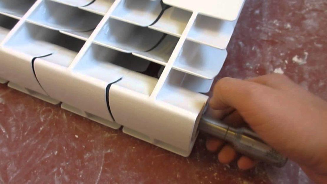 наращивание батарей отопления