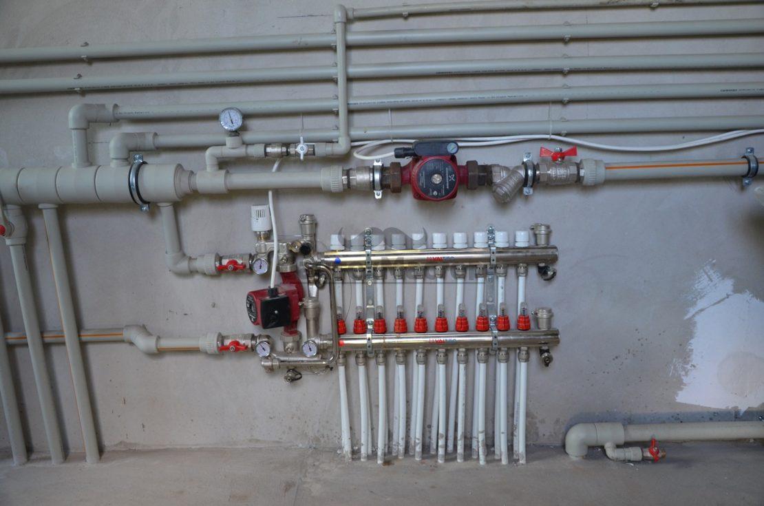 установка насосного оборудования