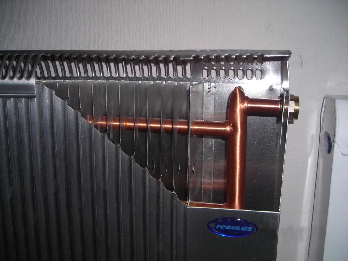 конструкции батарей водяного отопления