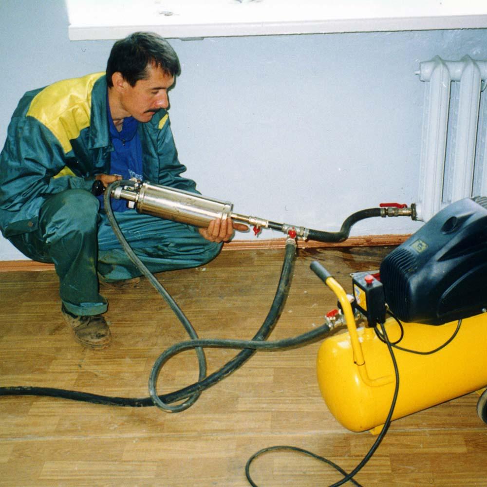 промывка труб отопления