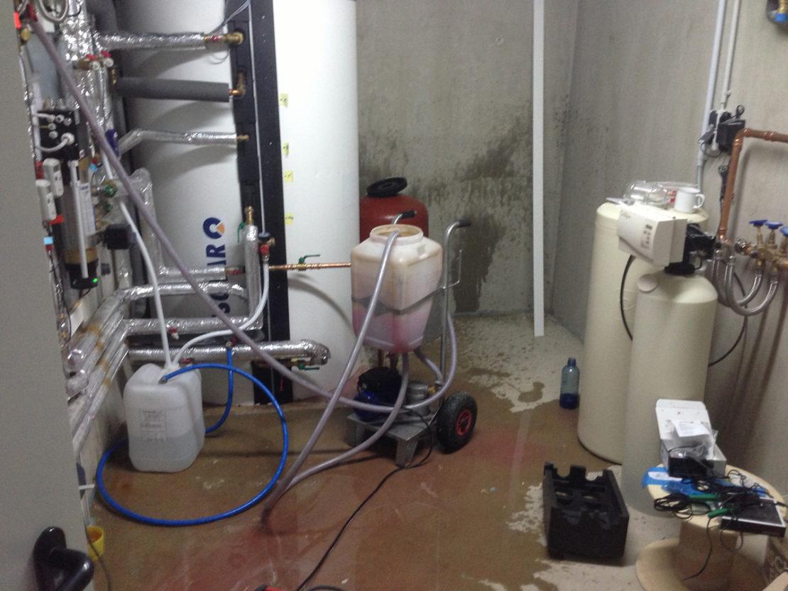 химическая промывка системы
