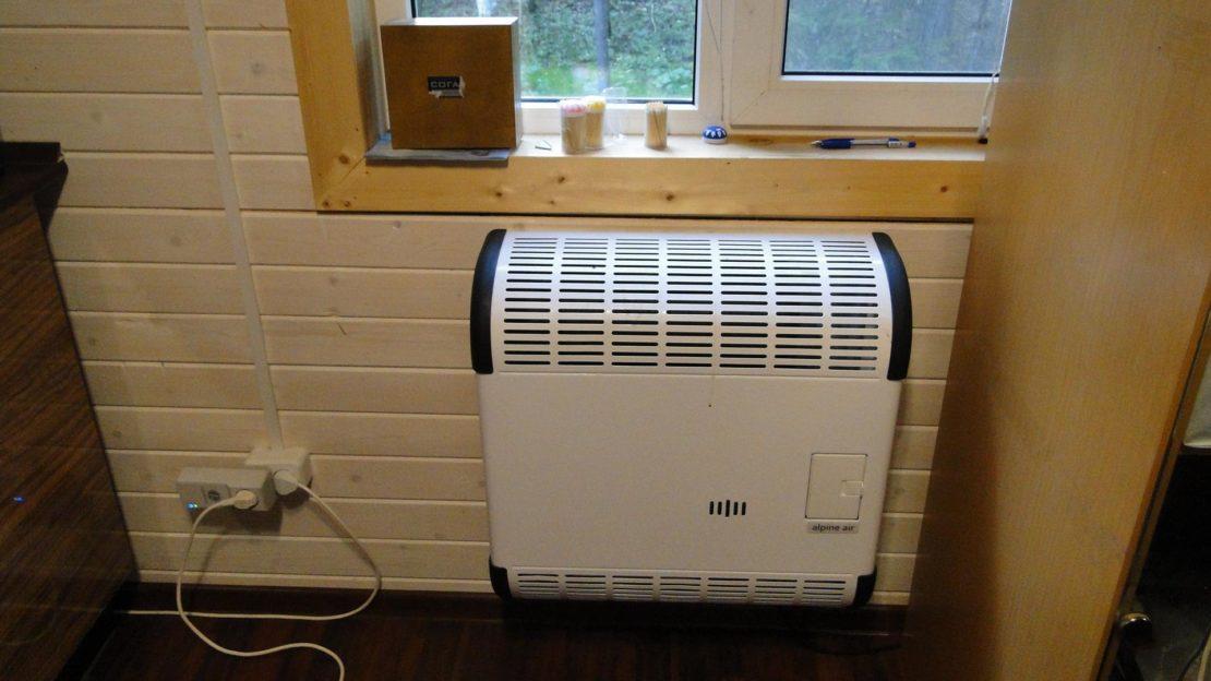 выбор газового конвектора для дома