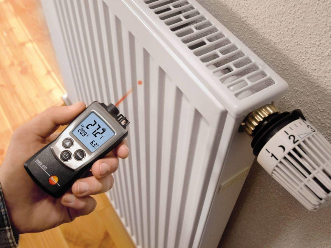 снижение температуры нагрева батареи